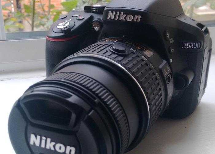 Nikon D5300 24.2MP Digital SLR Camera + Accessories - 1