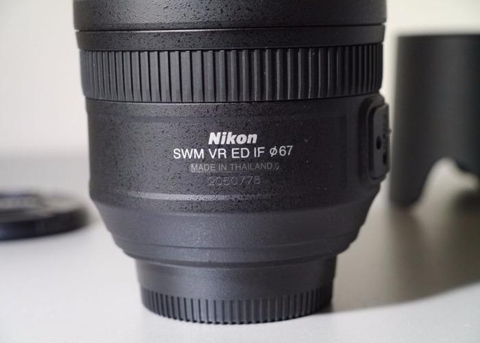AF-S VR Zoom-Nikkor ED 70-300mm f/4.5-5.6G IF - 2
