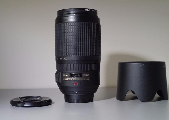 AF-S VR Zoom-Nikkor ED 70-300mm f/4.5-5.6G IF - 1