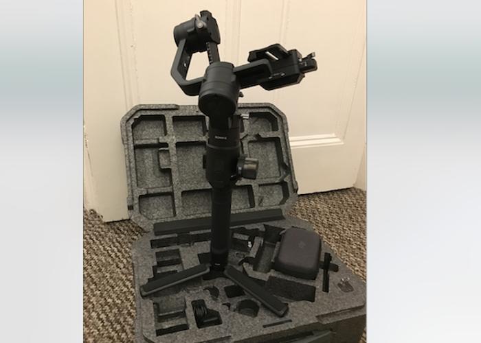 DJI RONIN-S Camera Gimbal, full kit the with focus ring.  - 1
