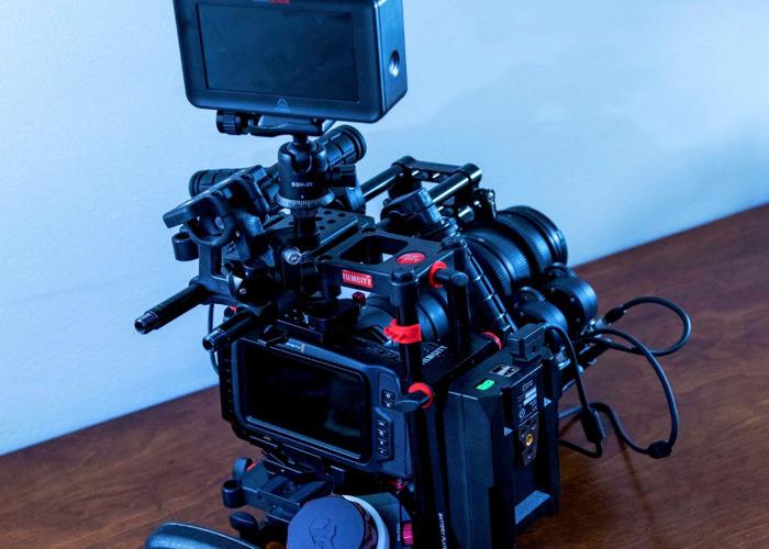 Blackmagic 6k + Rig + Lens + 1 TB SSD - 2