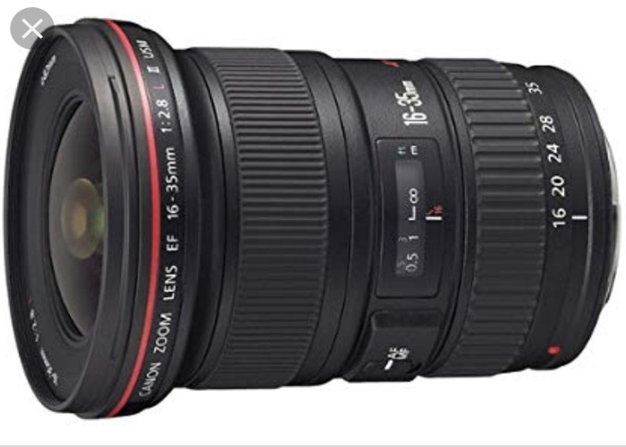 Canon EF 16-35mm L series zoom lens - 1