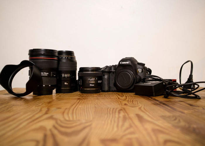 Canon EOS 5D Mark III + 24-70mm + 100mm + 35mm - 1