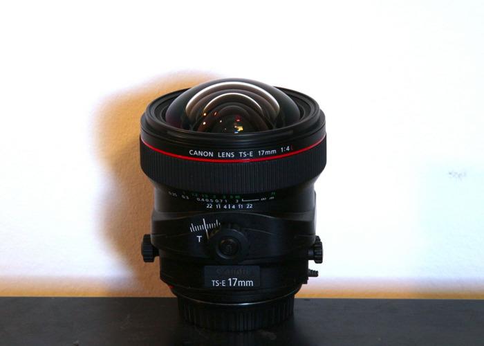 Canon TS-E 17mm f/4.0 L Tilt-Shift Lens - 1