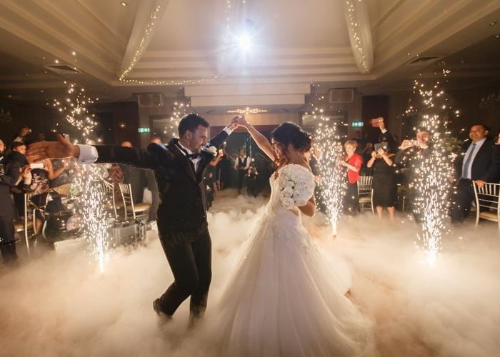 ❀ Dancing On Clouds Effect ❀ -- Wedding -- Dry Ice/Low Fog/Dance floor/DJ/Fireworks/Uplighting/Stage/Sparkular - 2
