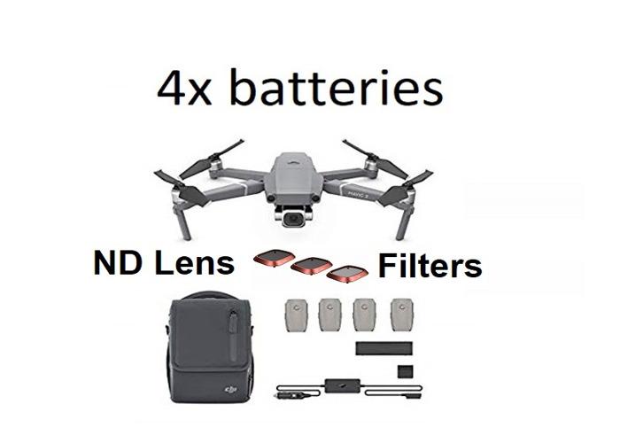 DJI Mavic 2 Pro 20MP Drone, Combo Fly More Kit 4x batteries - 1