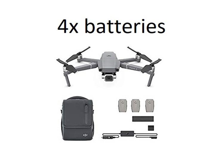 DJI Mavic 2 Pro 20MP Drone, Combo Fly More Kit 4x batteries - 2