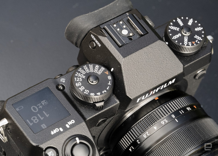 Fuji Fujifilm X H1 with  booster pack and 18 -55  - 1