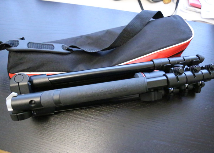 Manfrotto BeFree Compact Lightweight Travel Tripod  - 1