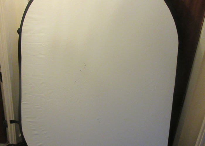 Neewer Black & White Collapsible Backdrop - 2