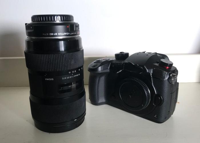 Panasonic GH5S Camera + Choice of 1 Lens - 1