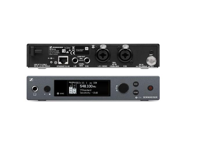 Sennheiser EW IEM G4 Wireless Twin In Ear Monitor System, GB Band - 2