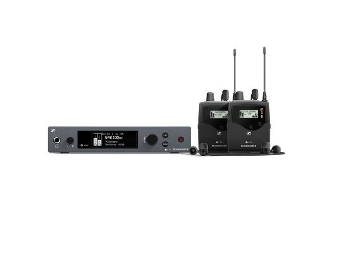 Sennheiser EW IEM G4 Wireless Twin In Ear Monitor System, GB Band - 1