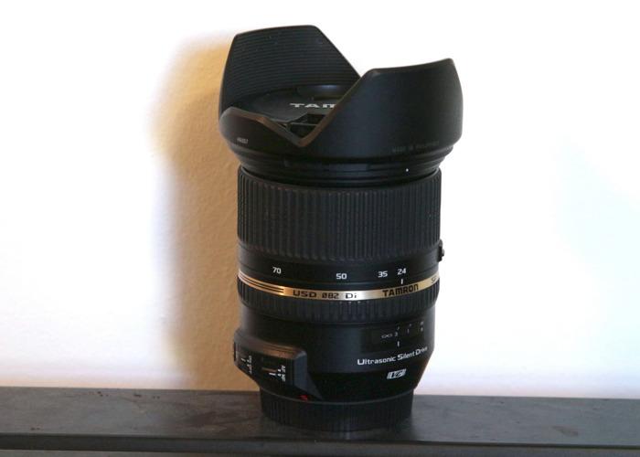 Tamron 24-70 mm F2.8 VC Lens Canon mount - 1