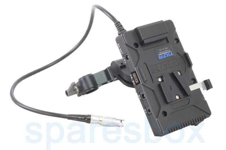 Tilta V-mount 15mm Rod Power System for Red Scarlet/Epic - 1
