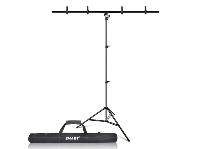 T-Shape Portable Background Backdrop Support Stand Kit 1.5M - 1