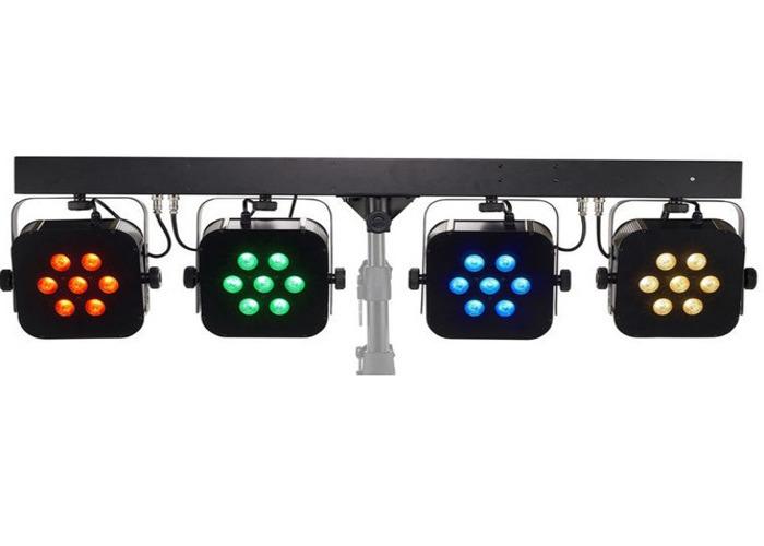 1 Stairville 4 x 28w LED PAR BAR RGB WW LED LIGHTS - 2