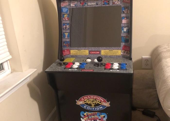 1 up Arcade machine (street fighter 2 edition) - 1