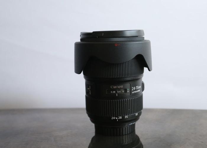1 x Canon 24-70 L II USM f2.8 Lens - 1