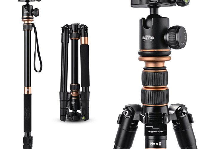 Travel Tripod up to 141cm (includes monopod) - 1