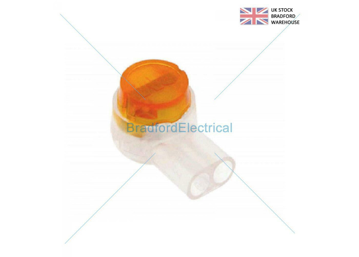 10 PACK 2 WIRE TELEPHONE JELLY CRIMPS TELECOM CONNECTOR as used by BT Virgin - 1
