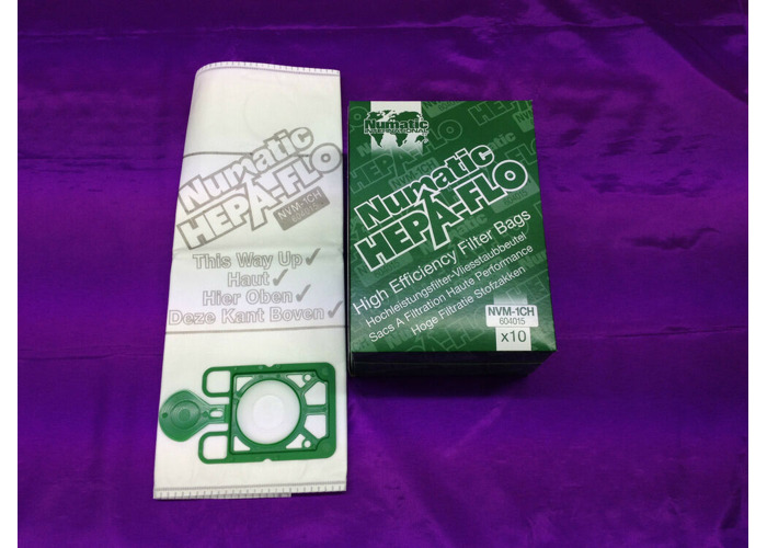 20 x Genuine Numatic Henry Hetty HEPAFLO Vacuum Cleaner Hoover Bags 604015