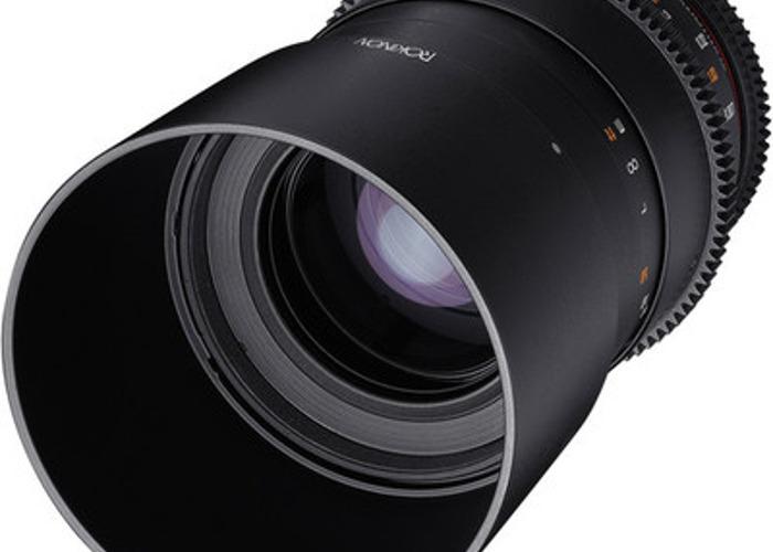 100mm Macro Cine Lens. Samyang/Rokinon EF Mount. - 2