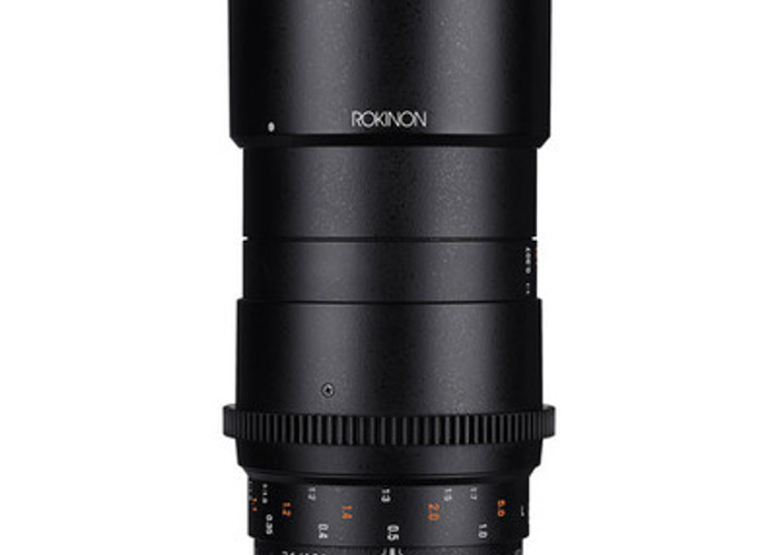 100mm Macro Cine Lens. Samyang/Rokinon EF Mount. - 1