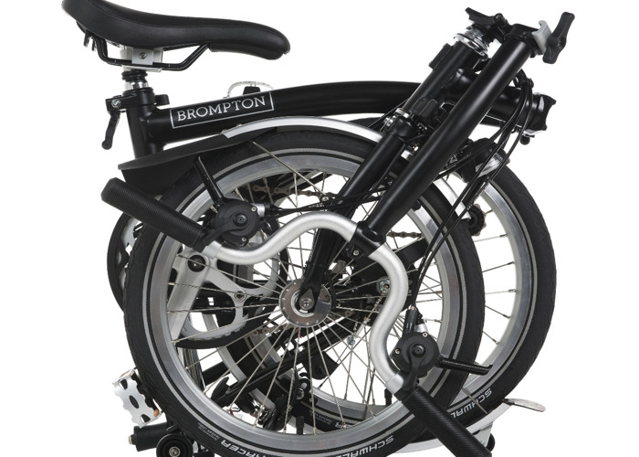 £100/week folding Brompton Bike + Accessories  - 1
