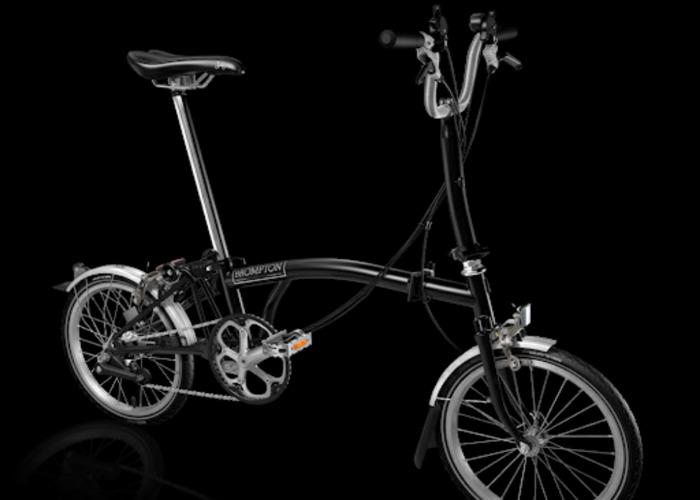£100/week folding Brompton Bike + Accessories  - 2