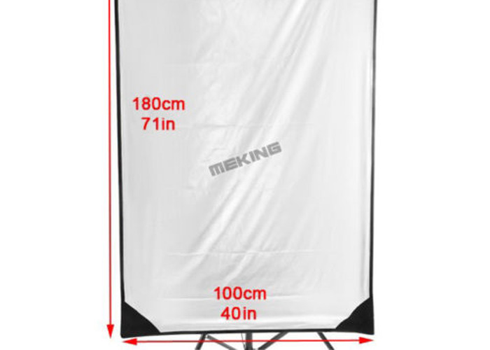 100x180cm Flag-Reflector-background-Panel-5in1 + Light Stand - 2