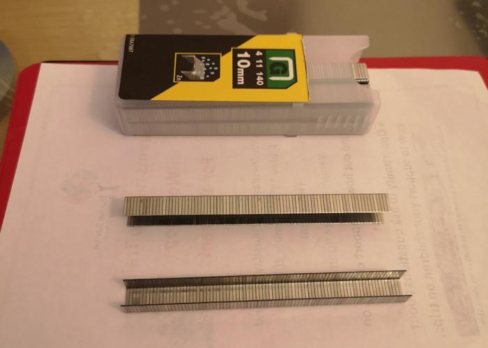 10mm Staples for Staple Gun  - 1