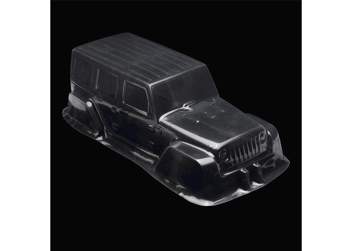 1/10 Clear Transparent PVC 313mm Wheelbase RC Car Body Shell for Jeep D90 Model - 2