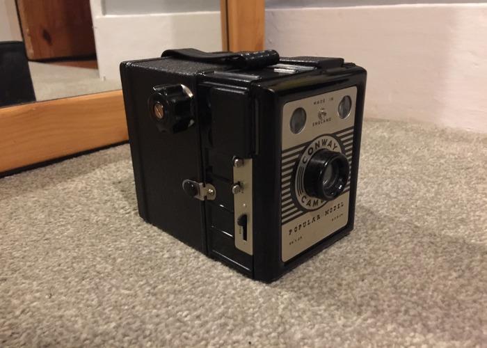 120mm roll film box camera - medium format  - 1