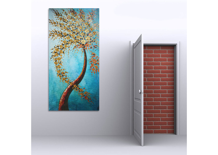 120X60CM Modern Abstract Huge Wall Art Painting On Canvas Not Framed - 2