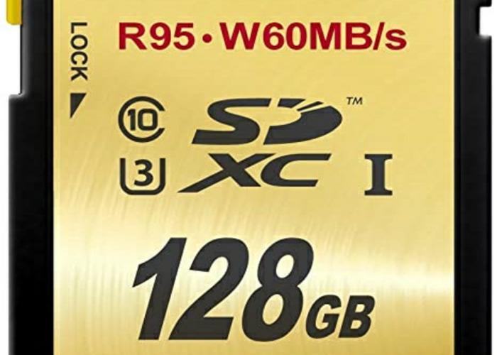 128gb sd card U3 - 1