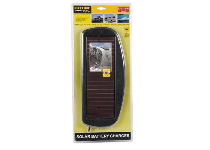 12V Solar Battery Charger - 1