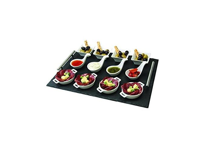 13 Piece Appetiser Serving Set - 1