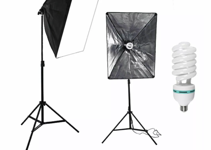 135W Photography Studio Softbox & stand  - 1