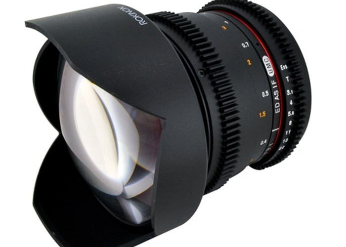 14mm T3.1 Cine Lens - 1