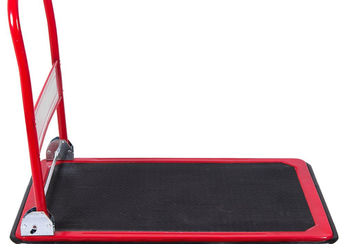 150kg capacity Folding Flat Bed Platform Hand Trolley - 2