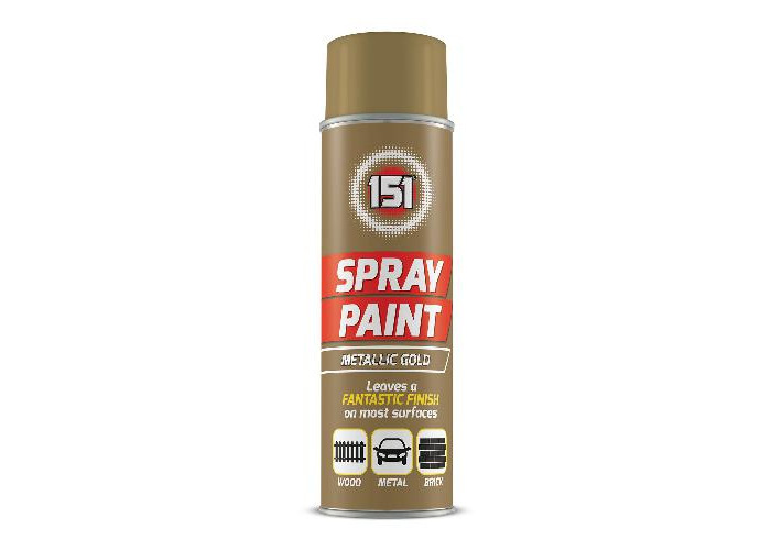 151 Spray Paint Metallic Gold - 1