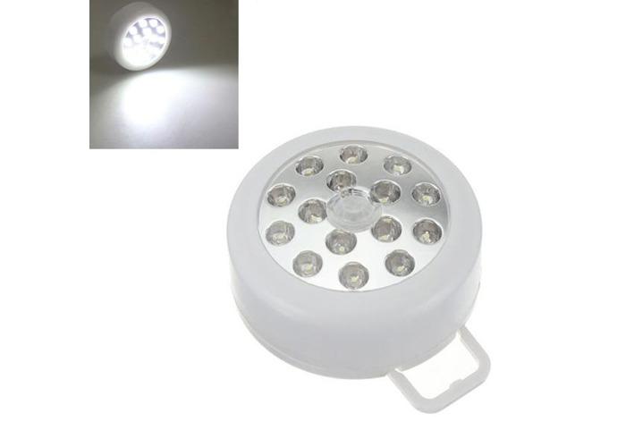 15LED PIR Auto Sensor Motion Detector Wireless Light White - 2