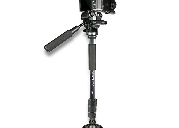 1.5m collapsible monopod with free standing base - 1
