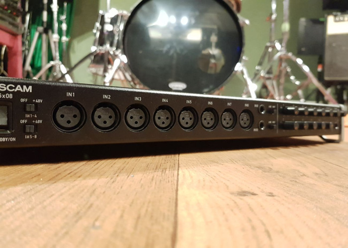 16 Input 8 output USB Audio Interface multi channel - Mac or PC - 2