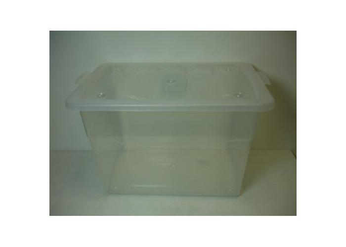 16ltr Eco Base Storage Box Clear - 1
