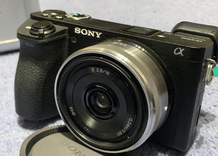 16mm f/2.8 Sony Prime Lens - 2