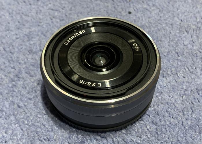 16mm f/2.8 Sony Prime Lens - 1
