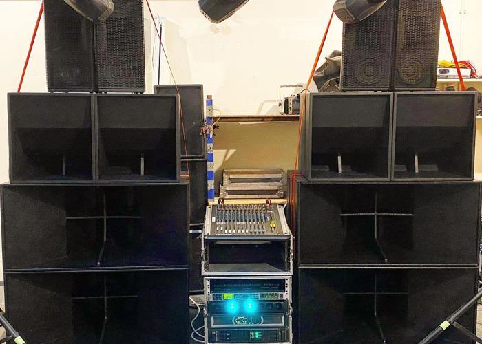 17000 Watt Sound System Hire - 1
