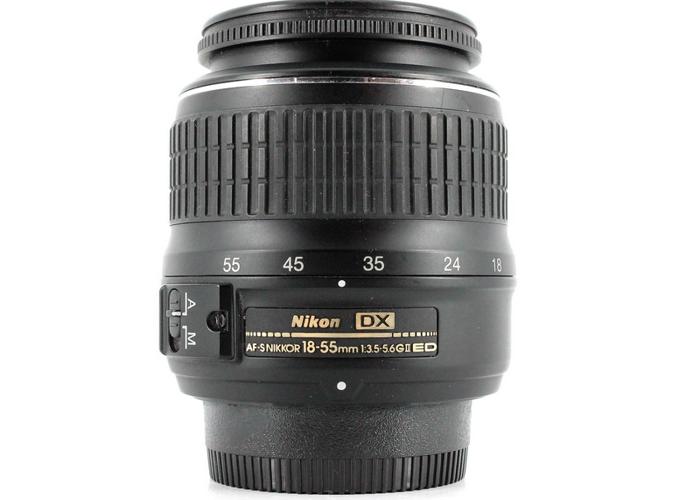 18-55 mm Nikon lens - 1